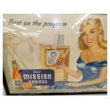 VIEW 2 CLOSEUP MISSION ORANGE CARDBOARD