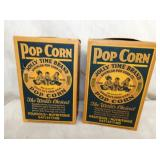 OLD STOCK JOLLY TIME POPCORN BOXES