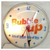 15IN BUBBLE UP PAM CLOCK