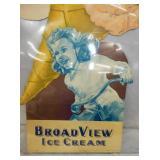 VIEW 3 CLOSEUP BOARDVIEW ICE CREAM SIGN