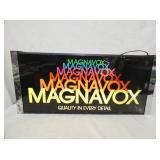 31 1/2 MAGNAVOX LIHGED HANGING SIGN