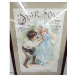 VIEW 2 CLOSEUP STAR SOAP ADV.
