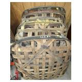 EARLY TOBACCO BASKETS