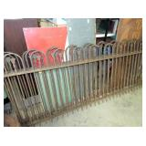 VIEW 3 (4PC.) 90X38 IRON FENCING