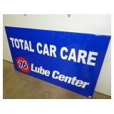 VIEW 2 RIGHTSIDE 76 EMB. CAR CARE SIGN
