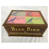 8X12 BLUE BIRD HANDKHERCHIEF DISPLAY