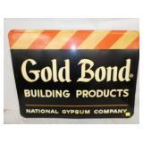 36X28 EMB. GOLD BOND SIGN