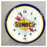 20IN SUNOCO NEON CLOCK