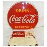 28X24 DRINK COKE, 18X14 GO BETTER