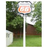VIEW 3 OTHERSIDE PHILLIPS 66 SIGN POLE