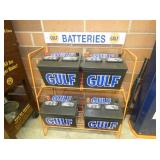 GULF BATTERY DISPLAY W/BATTERIES