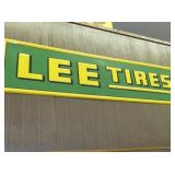 VIEW 2 LEE TIRES SIGN
