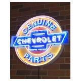 36IN. 2 COLOR CHEVY NEON SIGN
