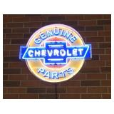 VIEW 2 CHEVY NEON CAN SIGN
