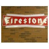 PORC. BOW TIE FIRESTONE SIGN