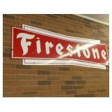 VIEW 2 PORC. FIRESTONE SIGN