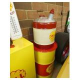 SHELL GAS & OIL CANS