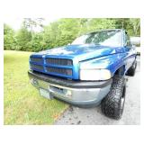 VIEW 3 FRONTSIDE 1997 4X4 DODGE