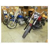 GROUP PHOTO HONDA/HARLEY MOTORCYCLES