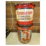 5G. ESSOLEUM & ATLANTIC CANS