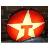 36IN. LIGHTED TEXACO SIGN