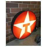 VIEW 2 LIGHTED TEXACO STAR SIGN