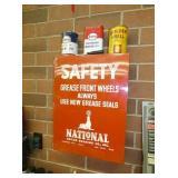 NATIONAL SAFETY GARAGE METAL CABINET