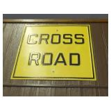 EARLY CROSS ROAD STREET SIGN