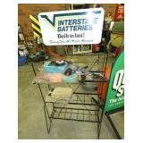 INTERSTATE BATTERIES RACK W/SIGN