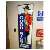 5FT. GOODRICH SAFETY TIRES SIGN