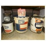 2G. & 5G. UNICO GREASE CANS