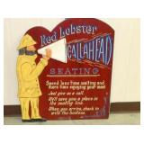 VIEW 2 RED LOBSTER CALL AHEAD SIGN