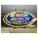NASCAR BUSCH NEON SIGN