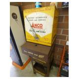 CLOSE UP ANSCO WIPER DISPLAY W/BASE