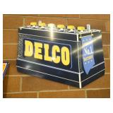 AC DELCO BATTERY DIE CUT SIGN