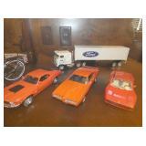 NYLINT FORD TRUCK/FRANKLIN MINT CARS