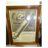 EARLY SCHRADE BALLOON TIRE DISPLAY AD