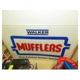 20X28 WALKER MUFFLERS SIGN