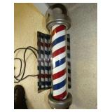 VIEW 2 WORKING ORG. BARBER POLE