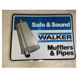 WALKER MUFFLER & PIPE SIGN