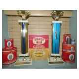 RACE TROPHIES/TOBACCO TINS