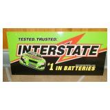 12X24 INTERSTATE BATTERIES SIGN