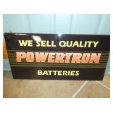 16X24 POWERTRON BATTERIES SIGN