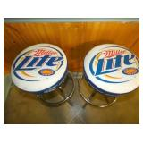 VIEW 2 MILLER LITE STOOLS
