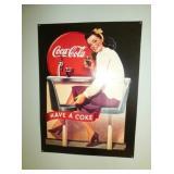 Coca Cola REPLICA SIGN