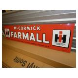 VIEW 2 SIDE VIEW FARMALL SIGN