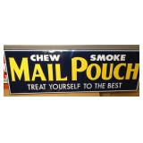 61X22 EMB. MAIL POUCH SIGN