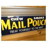 VIEW 2 CLOSEUP MAIL POUCH SIGN
