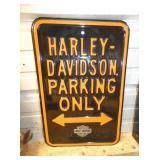 12X18 EMB. HARLEY DAVIDSON PARKING