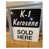 18X18 K-1 KEROSENE FLANGE SIGN